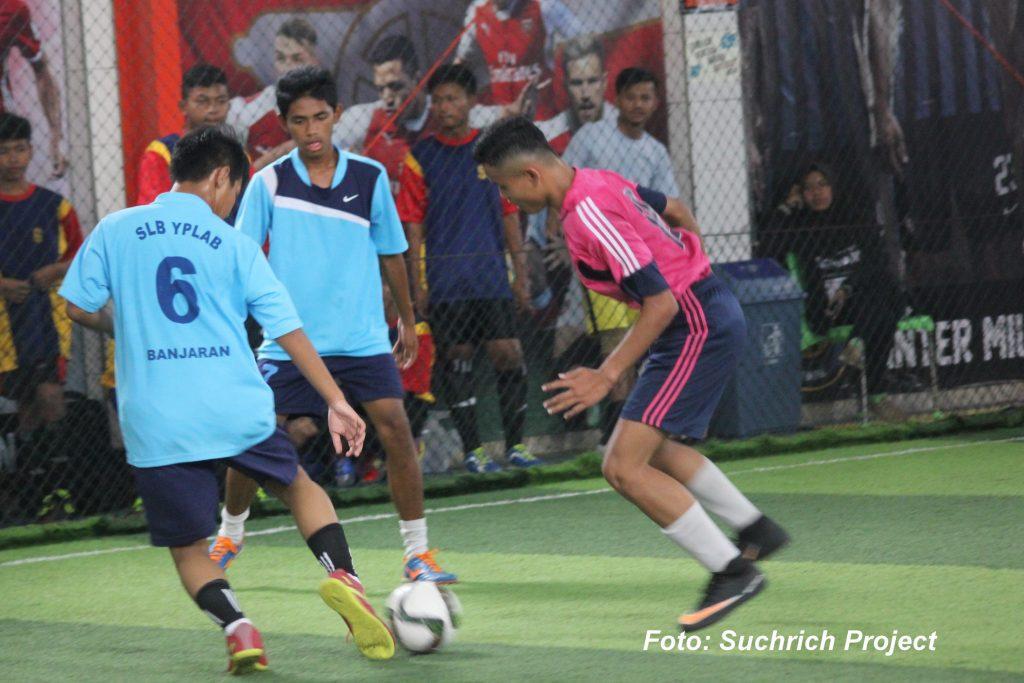 SLB Futsal Festival 2019 Arena Unjuk Prestasi Penyandang Tuna Grahita