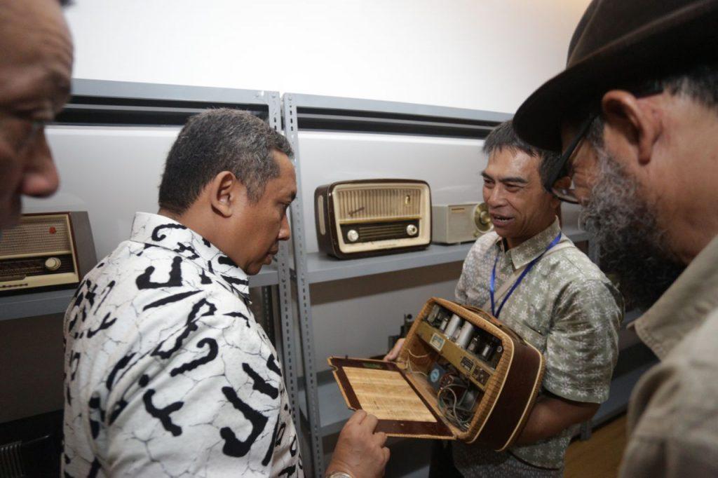 Radio Bung Karno dan Jenderal Sudirman Mejeng di Museum Bandung