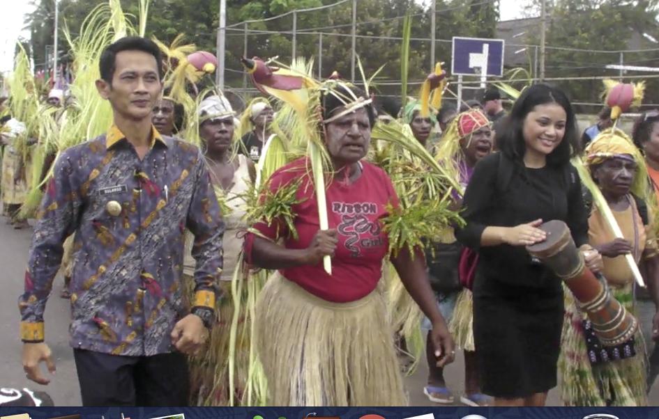 Karnaval Budaya di Tepi Negeri