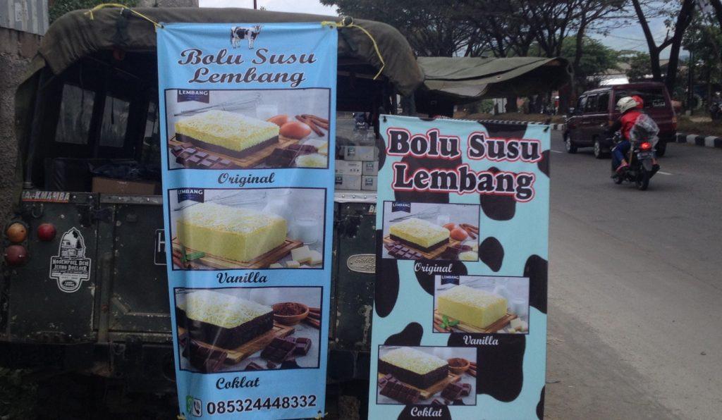 Bolu Susu Lembang, Kuliner Khas Urang Bandung
