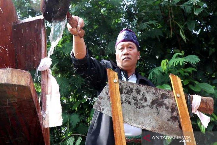 Petani Tembakau Temanggung Gelar Jamasan Srobong Gobang