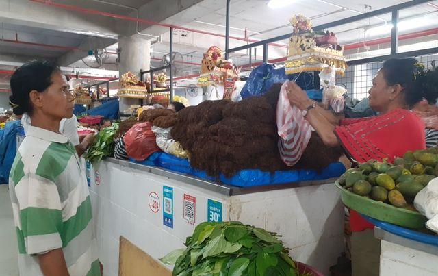 Tembakau Guwang Jadi Favorit Pedagang Pasar Badung