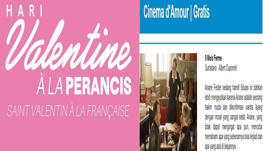 IFI Bandung Siapkan Perayaan Valentine ala Prancis